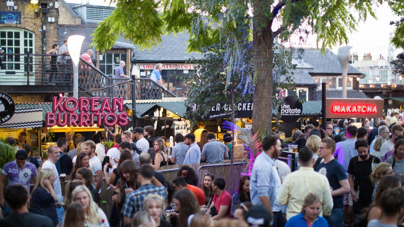 KERB Camden Market launch - KERB