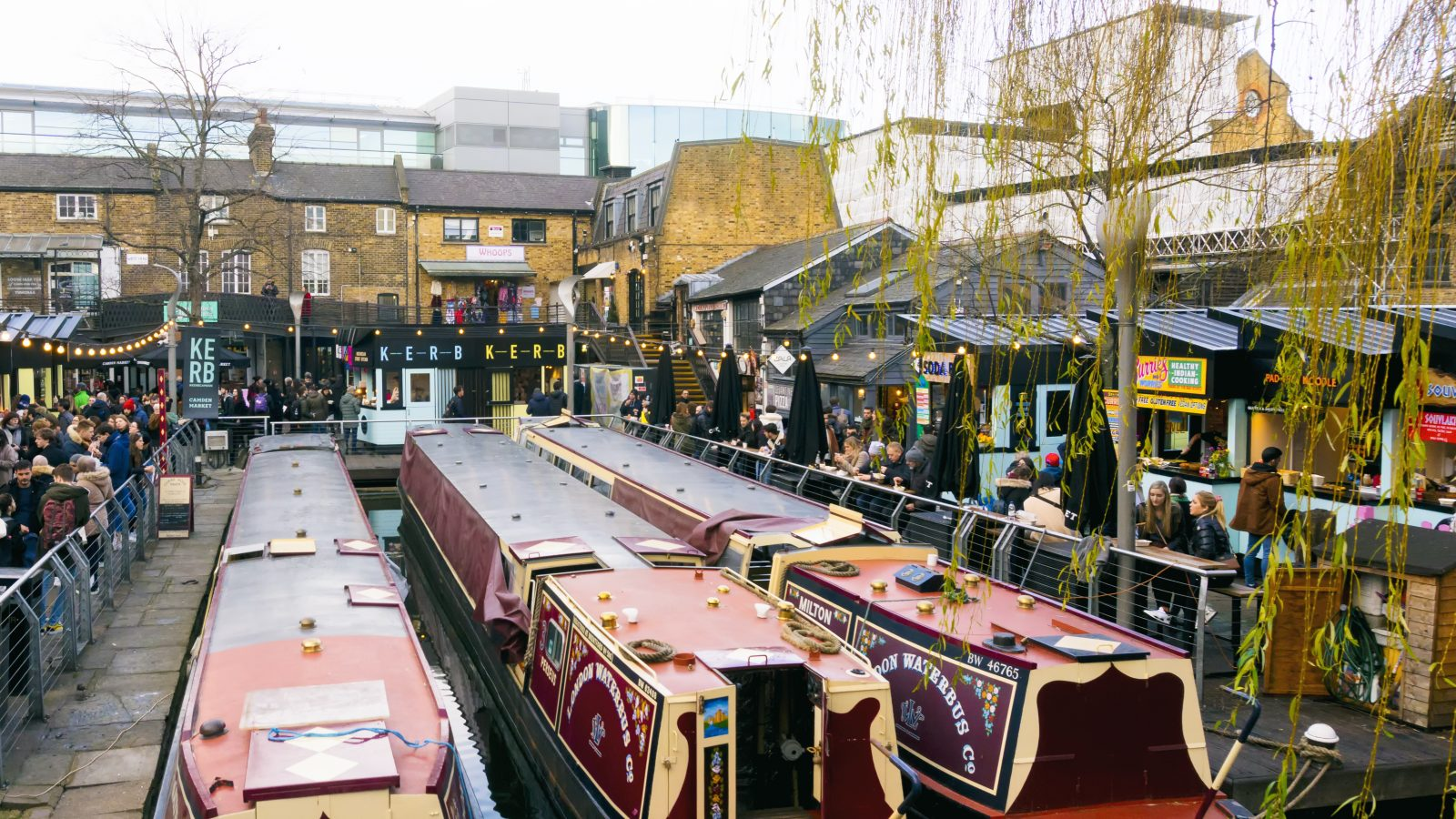 Kerb camden market kerb the best of london street food for The camden