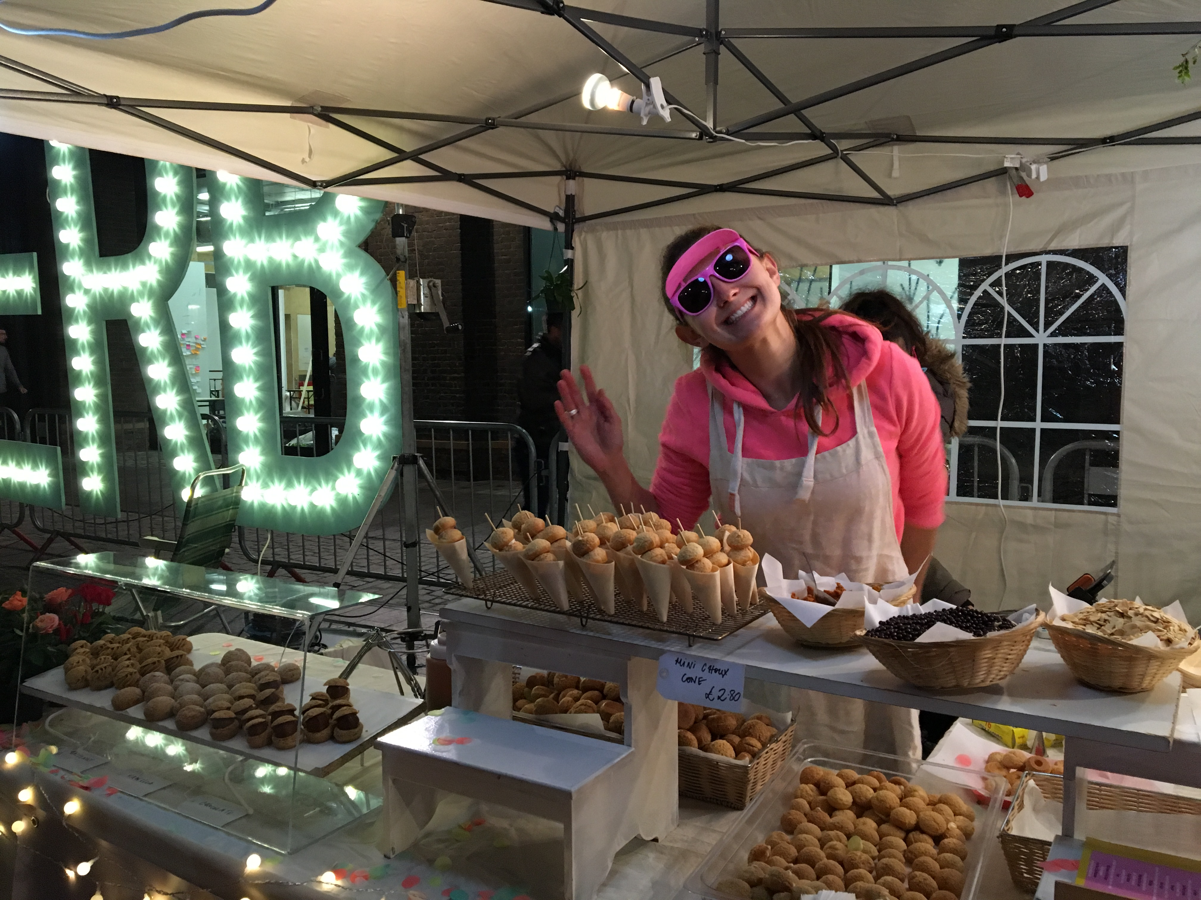 Le Choux Kerb The Best Of London Street Food