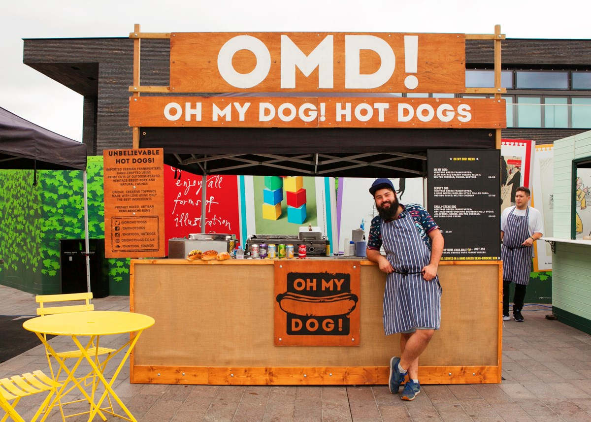 Oh My Dog! - KERB - The Best of London Street Food