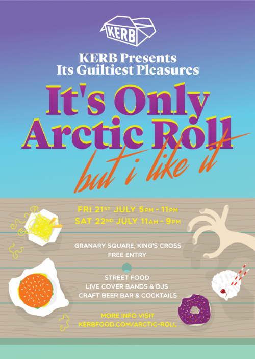 It's Only Arctic Roll, But I Like It